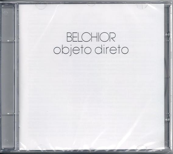 Belchior - Objeto Direto ( Cd, 1980 / 2018 ) Usado
