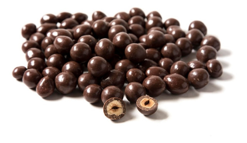 Imagen 1 de 6 de Avellanas Tostada C/chocolate Con Leche Chocolart X 500 Gm