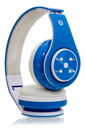 Fone De Ouvido Bluetooth P2 Hifi Mp3 Sd Fm Recarregável