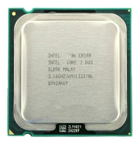 Processador Intel 775 Core 2 E8500 Lga Oferta!