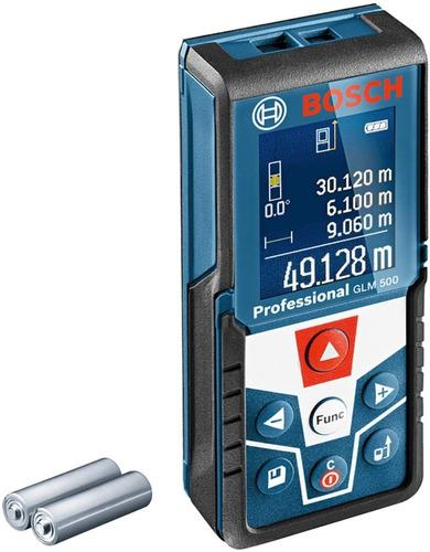 Medidor De Distancia Glm 500 Trena A Laser 50m Bosch