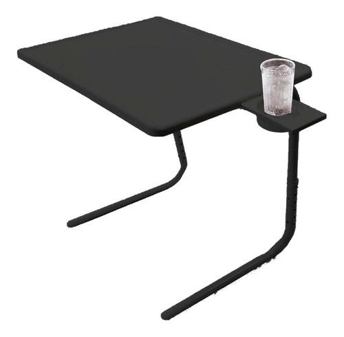 Mesa Multifuncion Plegable Con Porta Vaso