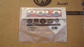 Emblema Logotipo Adesivo Polo Hatch Original Vw