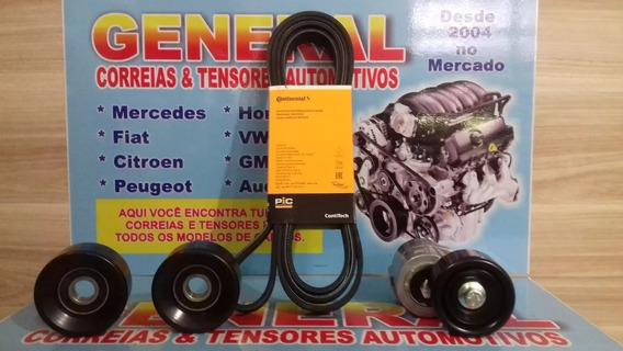 Kit Correia Alternador Acess. Tensor Kia Carens 2.0 16v 2011