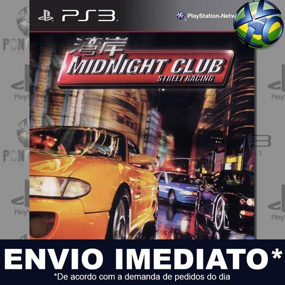 Midnight Club (ps2 Classic) Ps3 Psn Jogo Em Promoção Play 3