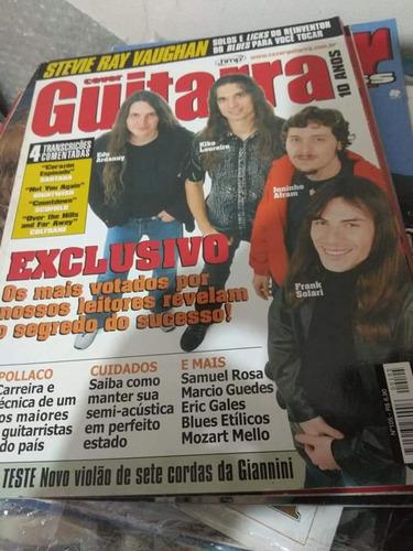 Usado Revista Cover Guitarra, Oficina G3, De Sin, Angra