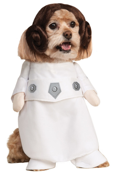 Rubies Costume Star Wars Collection Pet Costume, Princess Le