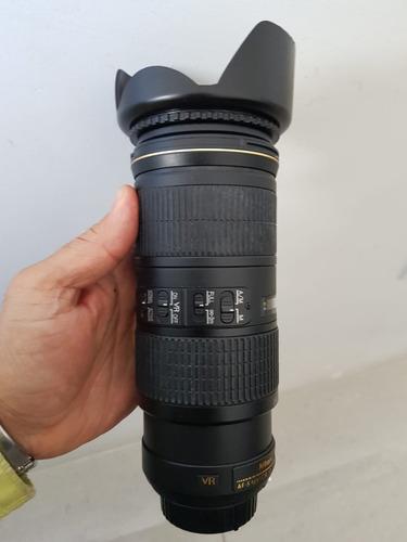 Lente Af S Nikkor Lens 70-200mm 1:4g Ed