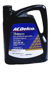 Aceite Acdelco Sintetico 5w30 Dexos 1 Gen 2 4 Lt Chevrolet A