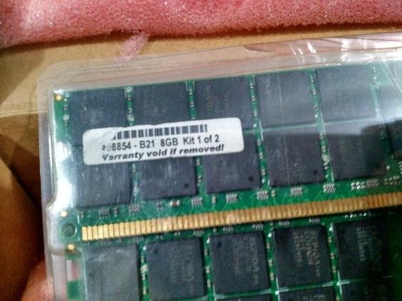 Hp 16gb 4x4gb Pc2-5300 Ddr2 Memory Kit 408854-b21