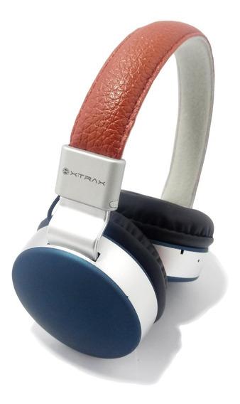 Fone De Ouvido Bluetooth Xtrax Urban Marrom