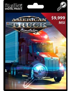 American Truck Simulator [steam Key]