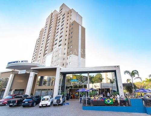 Apartamento Mobiliado No Hotel Transamerica Para Locação No Jardim California, Proxino A Faap, 1 Suite Com 24 M2 E Lazer, Limpeza Diaria Inclusa - Ap01925 - 67662640