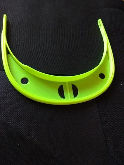 Máscara De Protección Facial Sanitaria X (10 Unidades). 3d