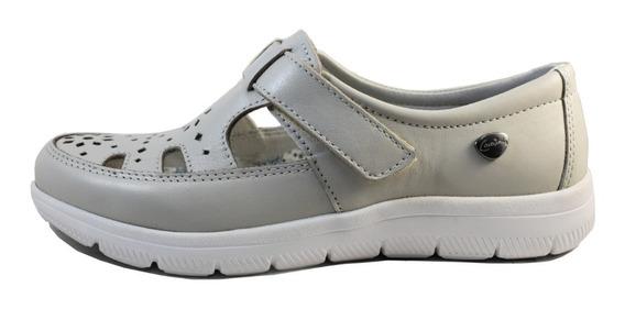Zapato Acanalado Zapatilla Cavatini Sandalia Mujer Liviana