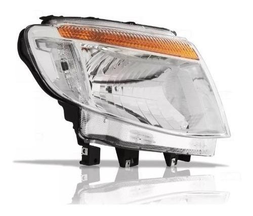 Optica P/ Ford Ranger 2012 2013 2014 2015 Electrica Cromada