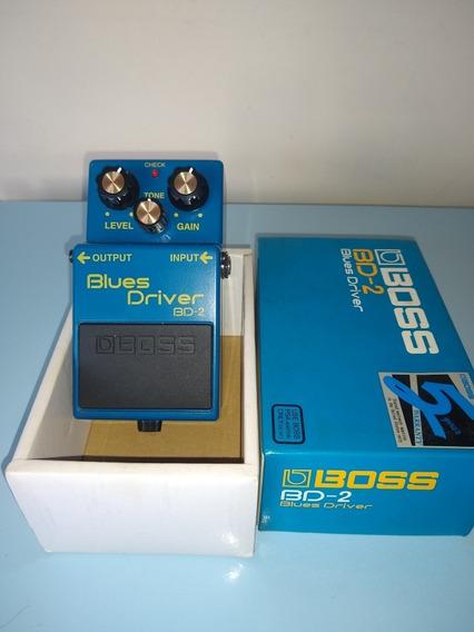 Pedal Boss Blues Driver Bd-2 Novinho