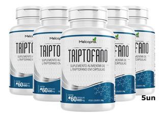 Triptofano 60caps Concentrado Original Natural Melcoprol 5un