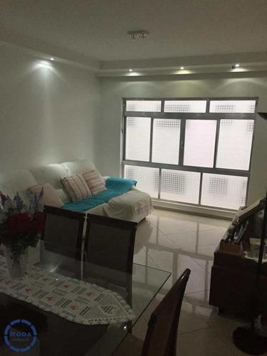 Apartamento Com 2 Dorms, Aparecida, Santos - R$ 575 Mil, Cod: 18573 - V18573