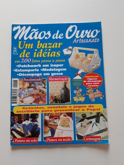 Revista Mãos De Ouro Artesanato Pintura Parchwork D693