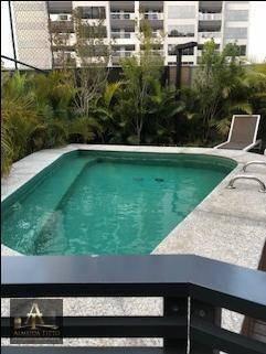 Excelente Apartamento Mobiliado A Venda No Condomínio Novare Em Alphaville !!! - Ap1857