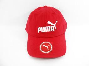 Boné Puma Ess Logo Vermelho