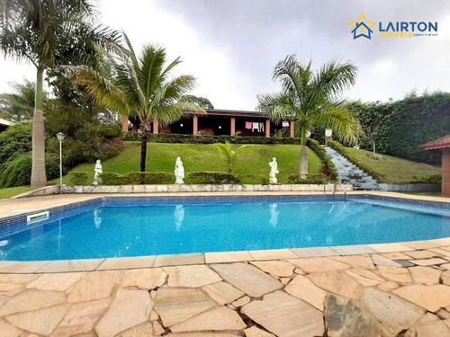 Imagem 1 de 30 de Chácara Com 4 Dormitórios À Venda, 2350 M² Por R$ 895.000,00 - Canedos - Piracaia/sp - Ch1462
