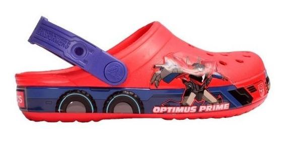 Sandalias Crocs Crocband Optimus Prime Kids - C-201812806 -