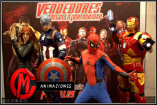 Cumpleaños Avengers Iron Man Spiderman Batman Star Wars