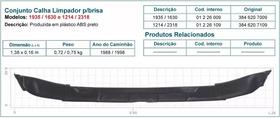 Calha Inferior Parabrisa Mb 1618/1935