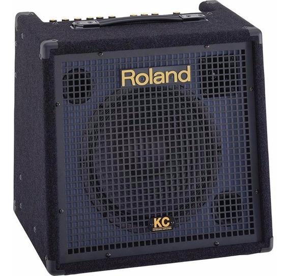 Caixa Amplificada Roland Kc-350 Com 4 Canais 120w Rms