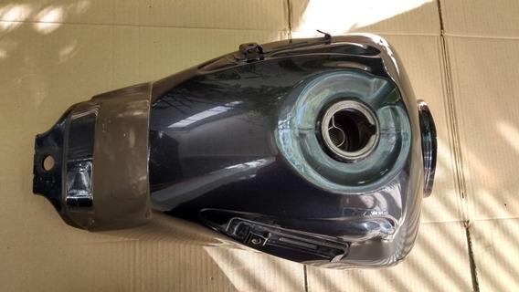 Tanque De Combustivel Titan 160 Fan (cinza) Original Honda
