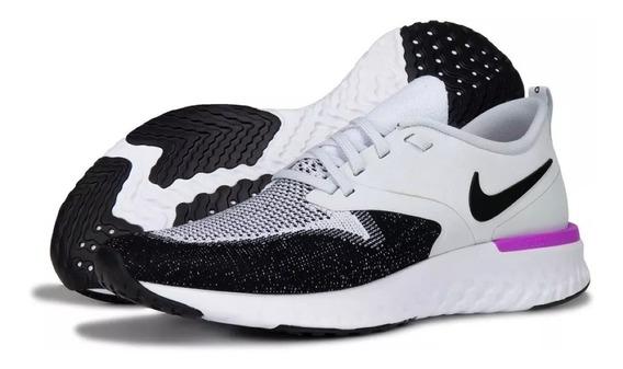 Tenis Nike Odyssey React 2 Flyknit Ah1015-009 Original + Msi