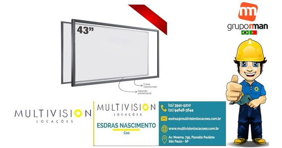Moldura Touch Screen 49 Frame Multitouch Infra Red 10 Toques