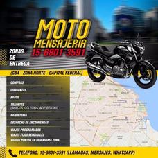 Mensajeria Moto Nordelta - Todo Tipo De Tramites Gba Caba