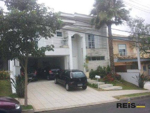 Casa Com 4 Dormitórios À Venda, 390 M² Por R$ 1.790.000,00 - Condomínio Village Sunset - Sorocaba/sp - Ca0438