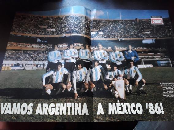 Lamina Central Radiolandia 2000 Argentina Vs Peru Clasifica