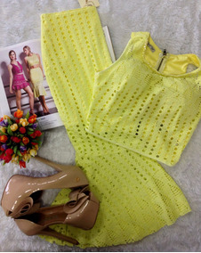 Conjunto Amarelo Perfect Way Tam P