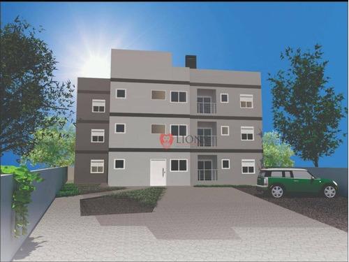 Apartamento Com 2 Dormitórios À Venda, 60 M² Por R$ 190.000,00 - Moradas Do Sobrado - Gravataí/rs - Ap0766