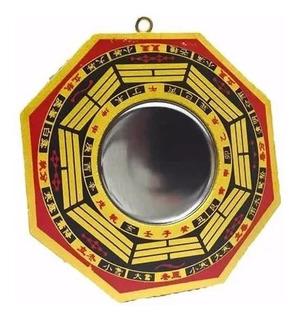 Espejo Pakua 10.5 Cm Feng Shui Concavo E2073