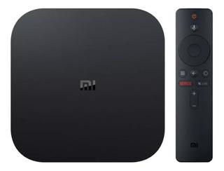 Xiaomi Tv Box Mi Box S Control Remoto Android 4k Cuotas