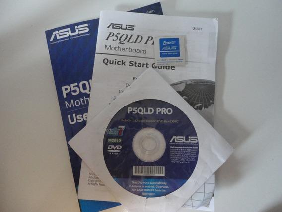 Dvd E Manual De Drivers Placa Mãe Asus P5qld Pro
