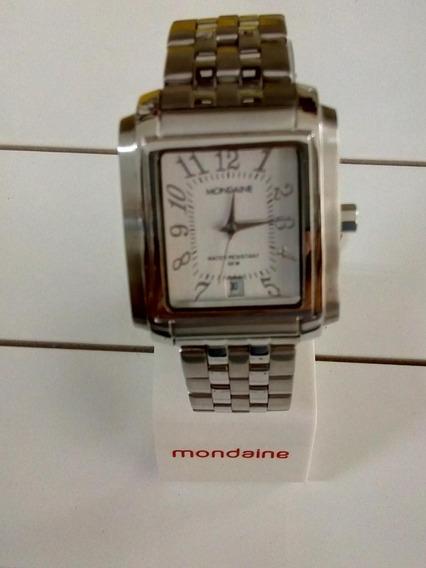Relógio Mondaine Todo Em Aço 45a799t2