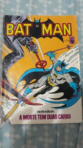 Revista Batman Numero 3 Abril Antiga Formatinho Raro Desgast