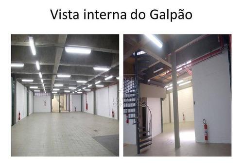 Imagem 1 de 20 de Galpão Para Alugar, 1100 M² Por R$ 28.000,00/mês - Campestre - Santo André/sp - Ga0764