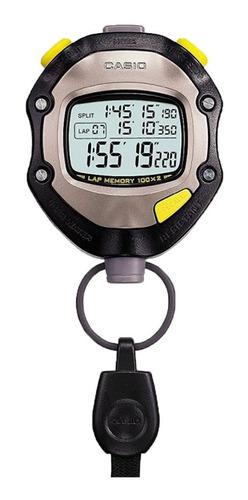 Cronómetro Casio Hs70w Para Arbitraje Alarmas 100 Memorias