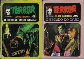 1976 - 2x Livreto De Bolso Série Terror Editora Cedibra