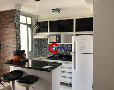 Apartamento Com 2 Dormitórios À Venda, 65 M² Por R$ 330.000 - Picanco - Guarulhos/sp - Ap7389