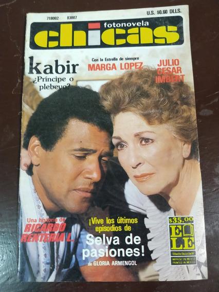 Marga Lopez Y Julio Cesar Imbert En Fotonovela Chicas