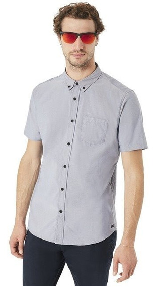 Oakley - Camisa Solid Woven - Slim Fit Hombre
